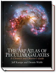 THe Arp Atlas of Peculiar Galaxies, A Chronicle and Observer's Guide